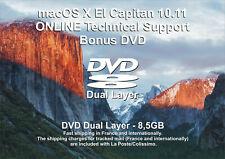 macOS X El Capitan 10.11 - ONLINE Technical Support - Bonus DVD DL