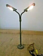 Seltene Kibri BRAWA H0 Platzlampe Light 2 - Flame Festoon Fluorescent