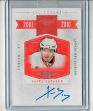2011 Panini Dominion All Decade jersey auto Pavel Datsyuk /50