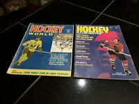 Hockey Vintage Magazines. Feb. 1972. Sports Collectibles. NHL.