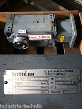 KNÖDLER KS 80 2-DS 100 Getriebemotor Kegelstirnradgetriebe Kegelgetriebe