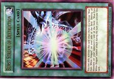 Ω YUGIOH CARTE NEUVE Ω ULTRA RARE AST-038 Burst Stream Destruction