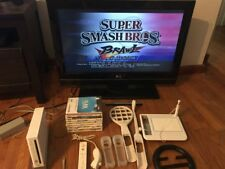 Nintendo Wii Lot 9 Games 1 Controller DreamGear Cooling Fan Super Smash Bros