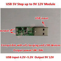 USB DC-DC Boost Voltage Step Up Converter 5V to 9V 12V Mini Power Supply Module