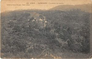 CPA 20 CORSE LORIANI COMMUNE DE CAMBIA