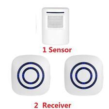 Wireless Motion Sensor Detector Gate Entry Door Bell Welcome Chime Alert Alarm