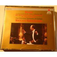 NIKOLAUS HARNONCOURT/CHAMBER ORCHESTRA EUROPE trois dernières symphonies MOZART