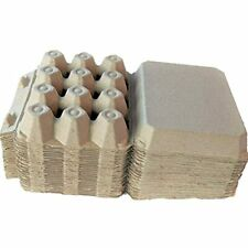 Vintage Blank Egg Cartons Classic 3x4 Holds 12 Large Eggs Sturdy Design Made
