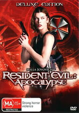 Resident Evil Apocalypse - Action / Horror / Violence - Milla Jovovich - NEW DVD