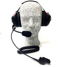 High Noise Headset for Motorola HT1000/XTS Series Radio, Behind-the-head Model