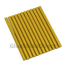 "GlueSticksDirect Gold Metallic Glue Stick mini X 4"" 12 sticks"