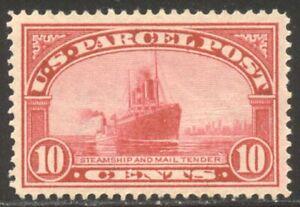 U.S. #Q6 CHOICE Mint XF/SUP NH w/Cert - 1913 10c Parcel Post