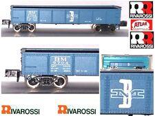 RIVAROSSI ATLAS 2401 CARRO MERCI GONDOLA TRASPORTO MINERALI B&M USA BOX SCALA-N