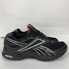 Reebok Easytone Black Smooth Fit Athletic Fitness Tone Workout Shoes Sz 9