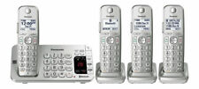 Panasonic KX-TGE474S Link2Cell Bluetooth® Cordless Phone with Answering Machine.