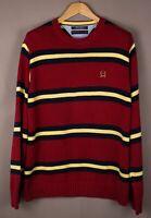 Tommy Hilfiger Herren Freizeit Vintage Pullover Sweatshirt Größe XL ASZ685