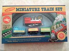 NEW Kids Childrens Vintage Retro Miniature Railway Train Set - Battery Christmas