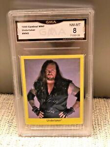 1999 CARDINAL WWF TRIVIA UNDERTAKER GMA Wrestlemania Wrestling WWE 98 PSA SGC