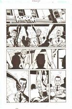 Establishment #6 p.11 - Strip Club 'Walking Dead' Artist by Charlie Adlard Comic Art