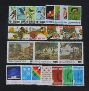 nystamps British Singapore Stamp # 212//298 Mint OG H/NH    S17y2674