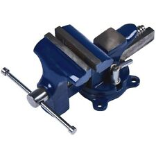 Amtech 90mm Home Vice Cast Iron Hardened Steel Jaws Diy Workbench Mount Tool New