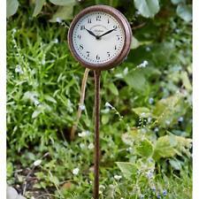 """Smart Garden Gartenuhr """"Hexham"""" mit Erdspiess Landhausstil, H65 x ø 18cm"""