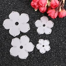 Flower Metal Cutting Dies Stencil Scrapbook Album Paper Card Embossing DIY Craft
