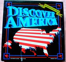 DISCOVER AMERICA Board Game [1st Ed.], 1994, Second Avenue, EXCELLENT PLUS!