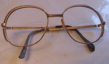 Monture de lunette plaquée or sans verres – 3 poinçons