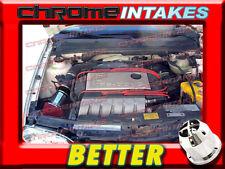 CF BLACK RED 92-98 VW GOLF GTI/CORRADO SLC/JETTA/PASSAT 2.8L VR6 V6 AIR INTAKE