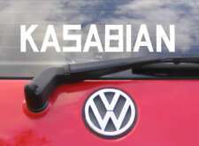 """8"""" KASABIAN Vinyl car sticker/decal - music CD T Shirt"""
