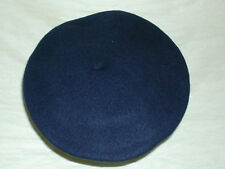 Basque Style Lined Wool Beret Cap / Hat - IMPORTED FROM CZECH - Various Colors