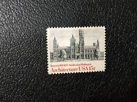 MNH USA Renwick 1818-1895 Smithsonian Washington, Architecture Stamp, 15 Cent