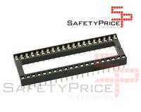 "5x Zocalo integrado 40 PINs DIP 40 Socket doble contacto 0,6 "" (15,24 mm)"