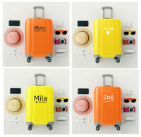 Personalised Suitcase Vinyl Sticker Initials Name Luggage Decal 0307
