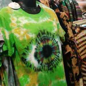 Tie Dye Rainbow Vision Eye T shirt UNISEX S-5XL