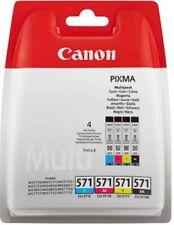 CANON CLI-571 Cyan/Magenta/Yellow/Black Tintenpatronen Multipack - Beschädigt