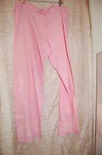 NWOT Sam Hilu Pink Cotton Pajama Bottoms Pants Size M