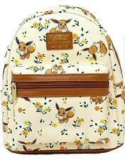 Loungefly Pokemon Eevee Floral Mini Backpack NWT