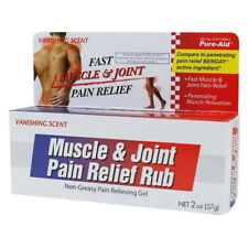 Pure-Aid Muscle & Joint Pain Relief Gel, 2 oz