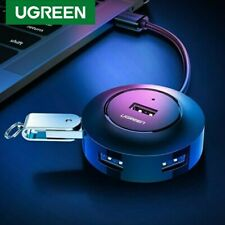UGREEN USB HUB 4 Port Host OTG Hub With Micro USB Power Interface For Laptop PC