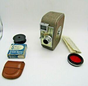 Keystone Capri K-30 Wind-up 8 mm Camera, Lens, Filter and Reel
