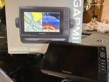 Garmin ECHOMAP Plus 73cv fishfinder/chartplotter panoptix compatible