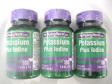Potassium Plus Iodine Iodide 540 Vegetarian Tablets Pills