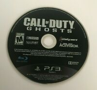 PS3 Call of Duty Ghosts PlayStation 3 Video Game Cleaned Tested