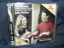 Mozart - Violin Concertos Nos. 3 & 4 -Fischer / Netherlands Chamber Orchestra 