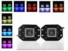 flush mount pods Halo rgb cube dually led light 40W dually light bar 3 inch 3 in
