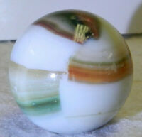 #10302m .99 Inches Unique Vintage Hybrid Marble King Shooter Marble Aventurine