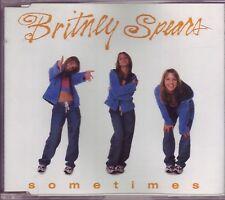 Britney Spears Sometimes 3-track CD single with Australian sticker