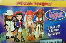 McDonald's 2003 Bratz Dolls MIP Complete Set of 8